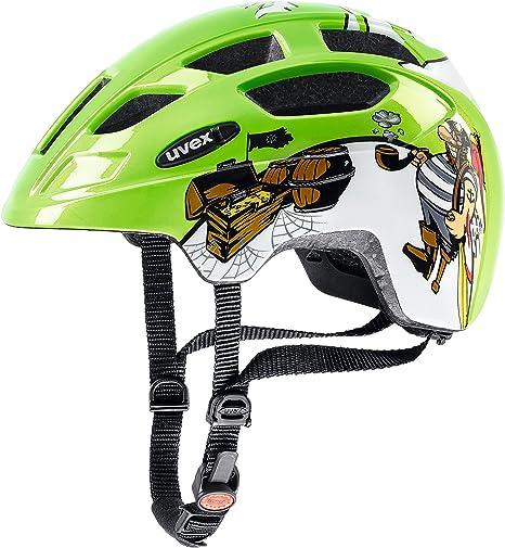 Uvex niños Finale Junior LED bicicleta casco, primavera/verano ...