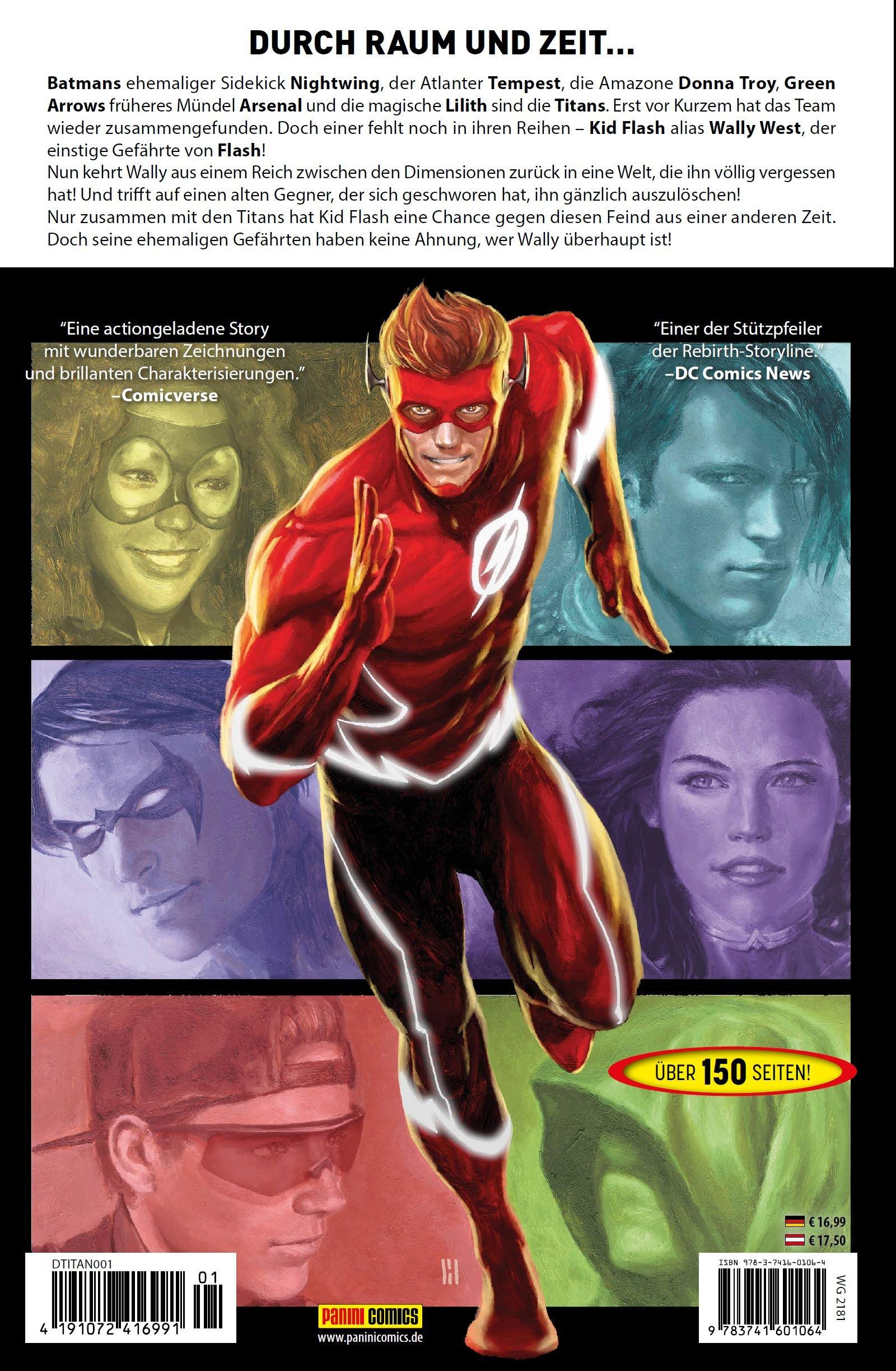 Titans: Bd. 1: Die Rückkehr von Wally West: Amazon.de: Dan Abnett ...