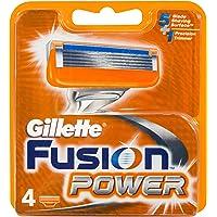 Gillette Fusion Razor Cartridges Refill, 4ct