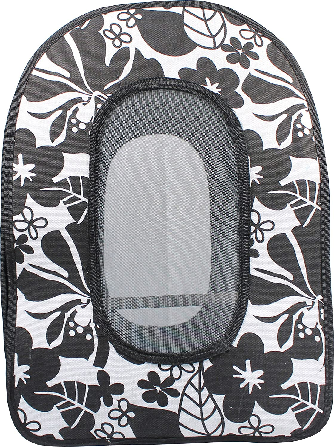 A&E CAGE COMPANY 001374 Black Happy Beaks Soft Sided Bird Travel Carrier, 13.5 x 9 x 18.5