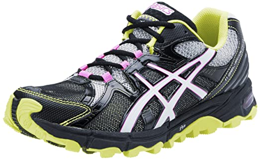 ASICS Women's GEL-Scout Trail Running Shoe,Lightning/White/Lime,6