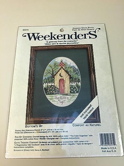 Amazon Weekenders Bottom Up Counted Cross Stitch 03575