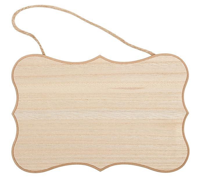 Juvale Wood Door Knob Hangers   12 Pack Unfinished Wooden Door Hangers DIY  Craft Projects, Home Decoration, ...