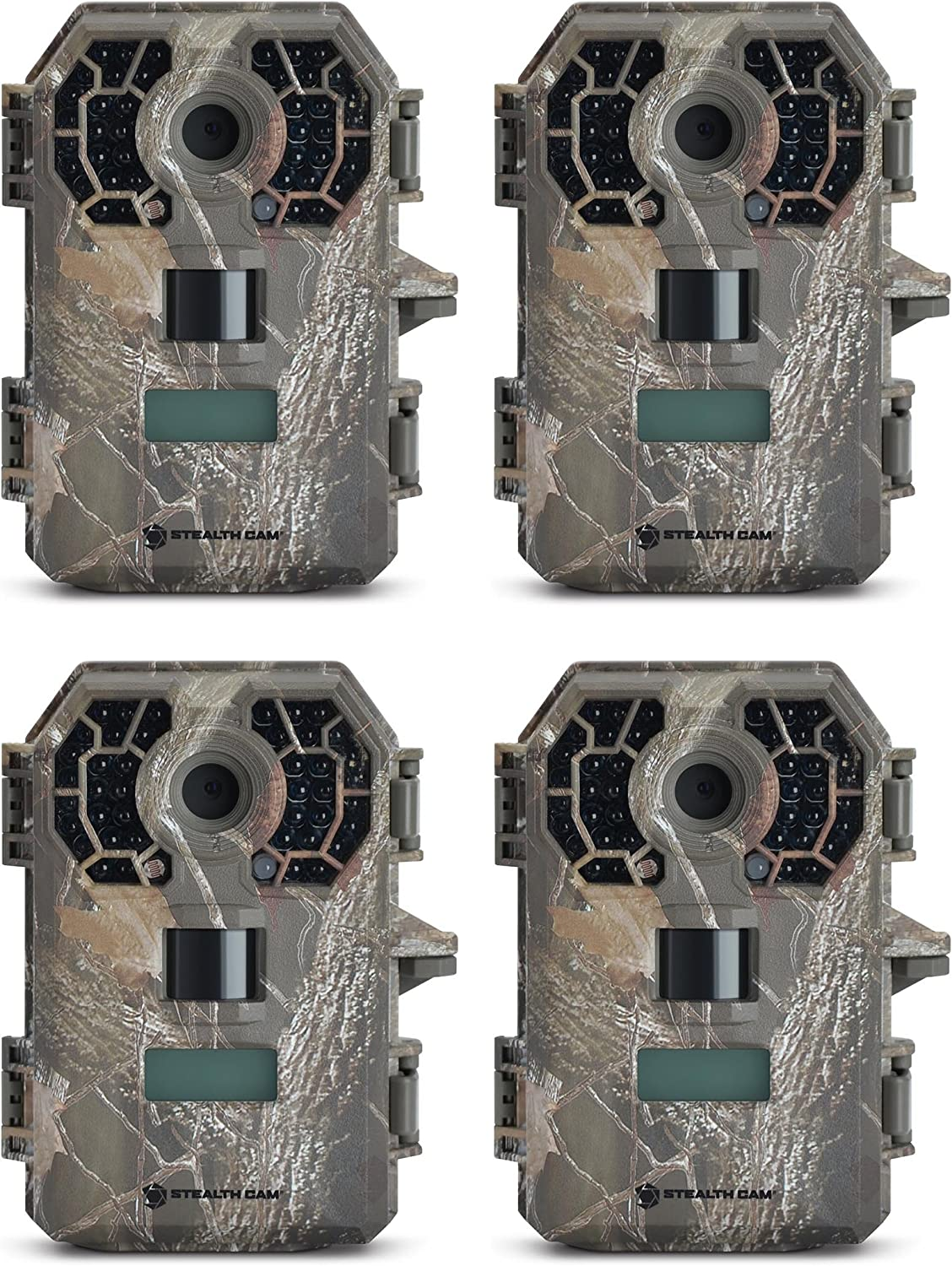 Stealth Cam G42NG 10MP HD Video IR Game Trail Camera 4 Pack
