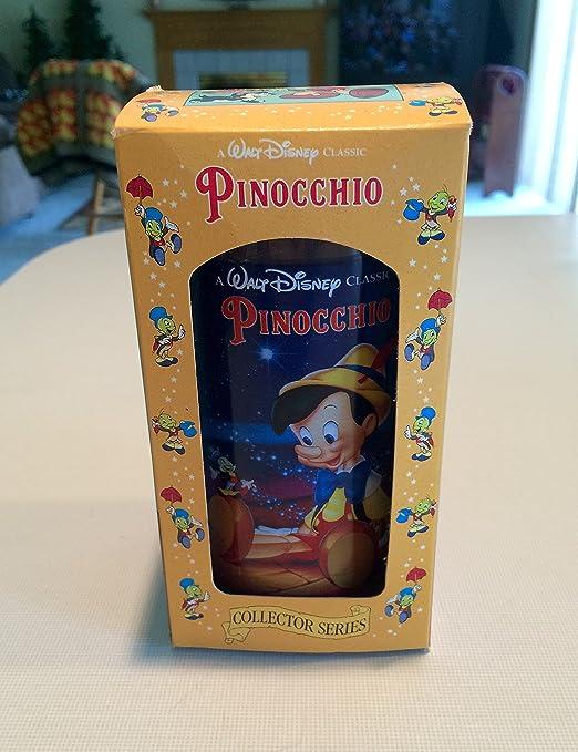 Disney Pinocchio Glass Burger King Walt Disney Collector Series