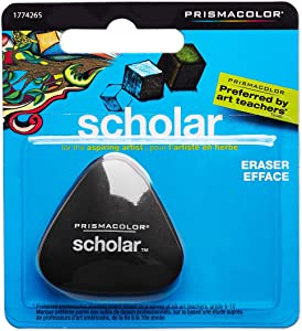 Prismacolor 1774265 Scholar Latex-Free Eraser, 1-Count
