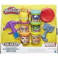 Play-Doh Marvel Heroes Assemble Art