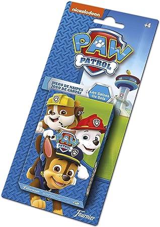 Patrulla Canina Baraja Infantil, Multicolor (Naipes Heraclio Fournier 1034794): Amazon.es: Juguetes y juegos