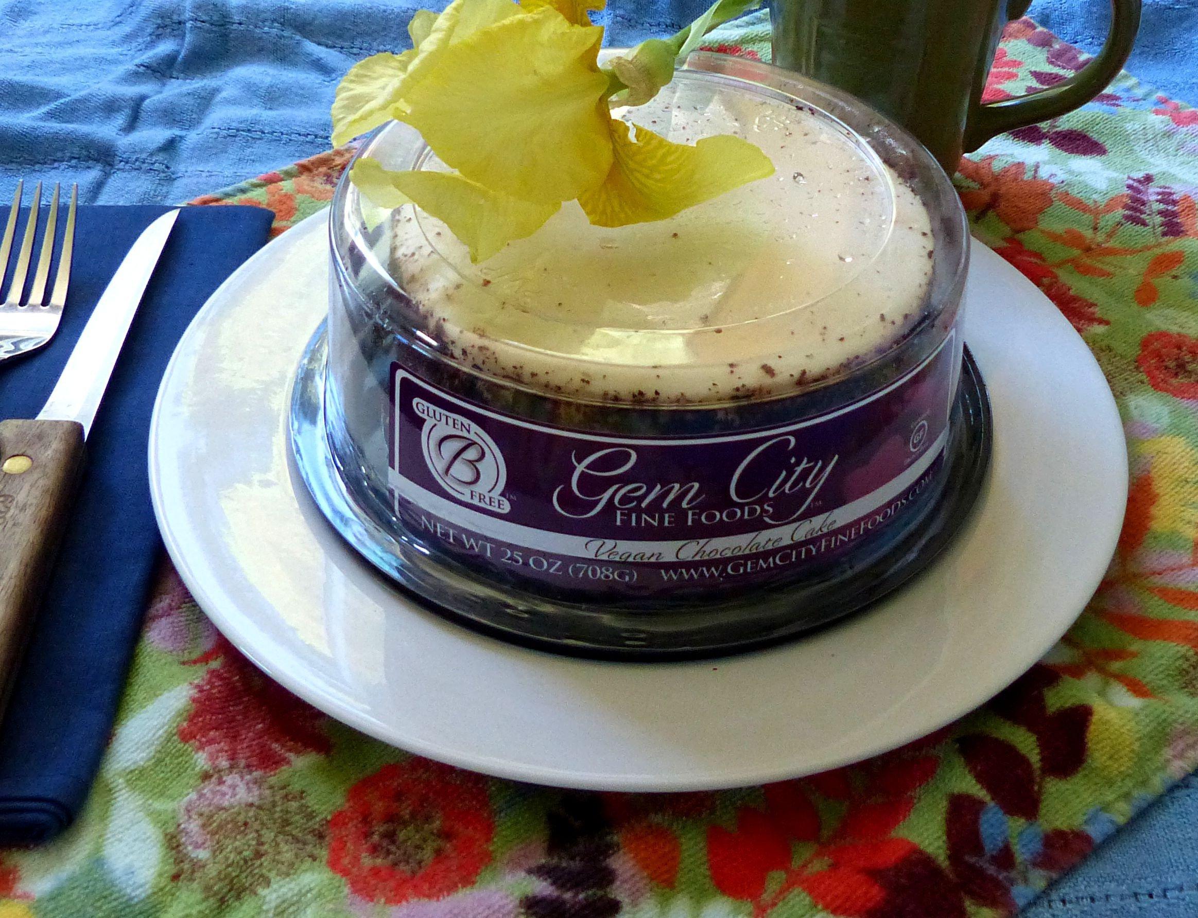 Vegan Chocolate Cake (Gluten Free)