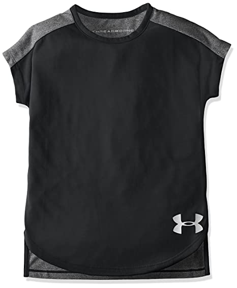 19a3e910 Buy Under Armour Girls' Threadborne Play Up T-Shirt Online at Low .
