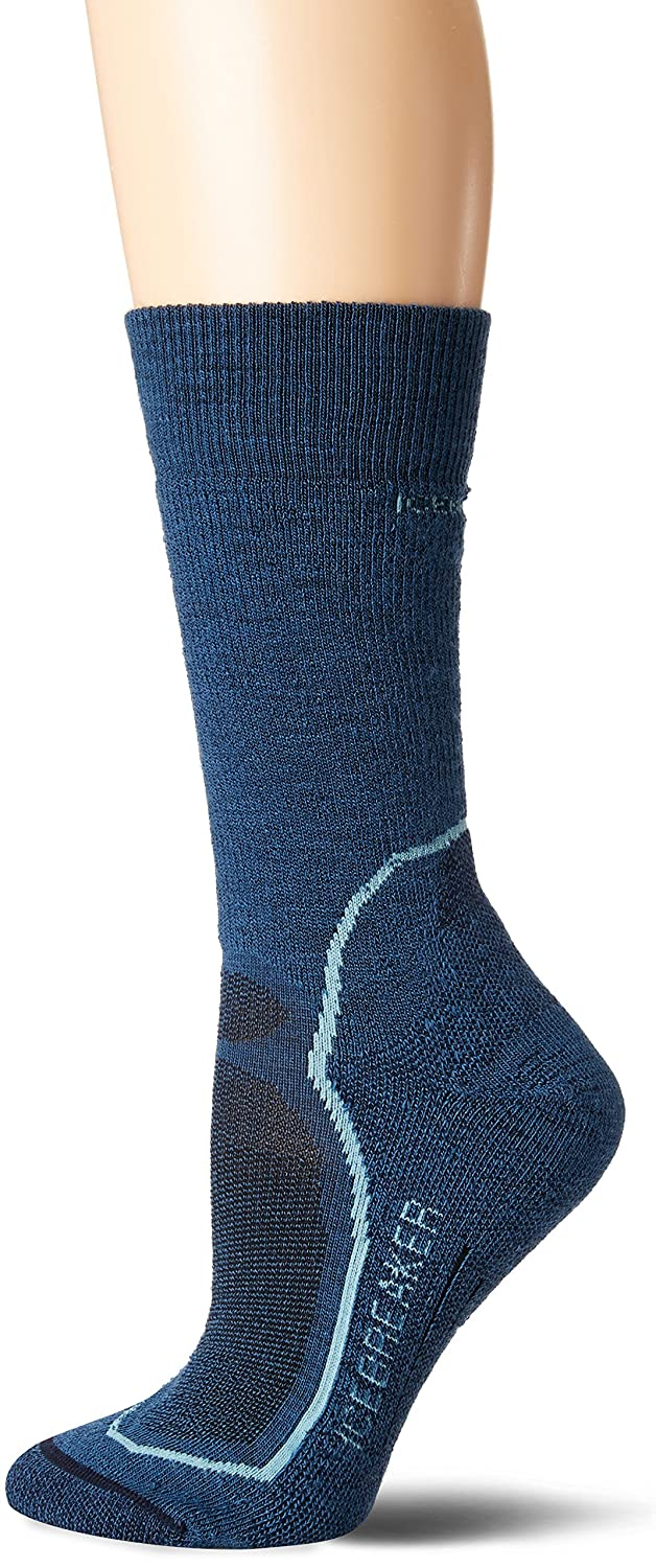Icebreaker Women's Hike Plus Crew Socks IBND15