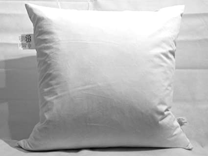 """Duck Feather Square Pillows 26/""""x26/"""" Continental Euro 65cm x 65cm"""