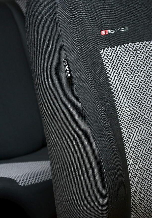 Punto Acolchado/® Auto de Joyas Velour Renault Master Fundas de Asiento a Escala Auto planificar Ajuste schonbez/üge de Asiento