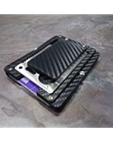 MultiWallet. Holstex Tactical Wallet Carbon Fiber Texture. Multi tool and money clip.