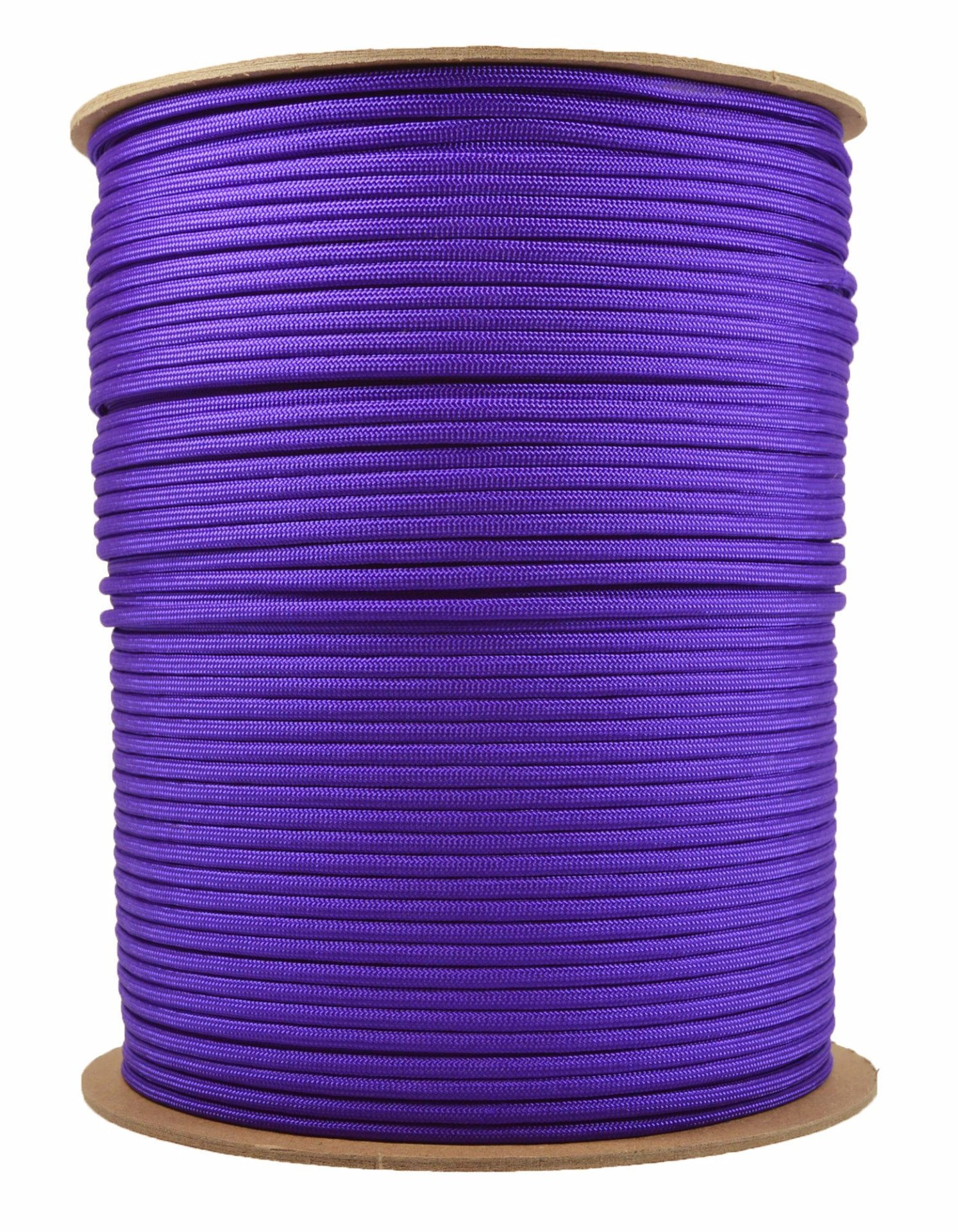 BoredParacord Brand Paracord (1000 ft. Spool) - Acid Purple by BoredParacord (Image #1)