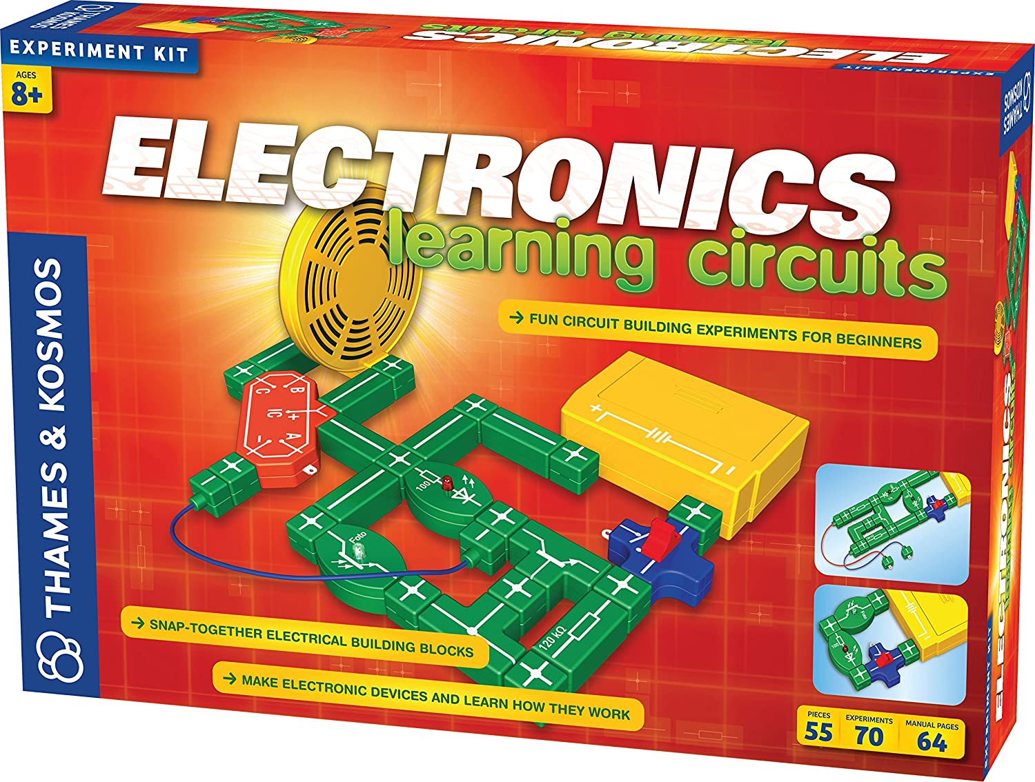 Thames Kosmos Electronics Learning Circuits Electrical Circuit Symbols For Kids Diagrams Toys Games