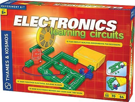amazon com thames \u0026 kosmos electronics learning circuits toys \u0026 games
