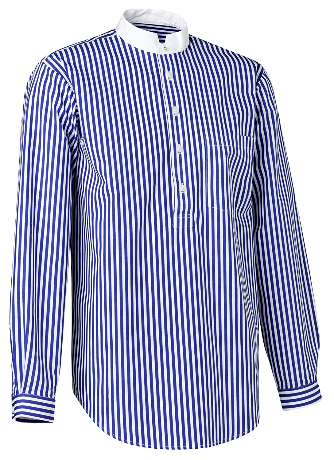 Edwardian Men's Shirts & Sweaters Cinque Terre Pullover Shirt $112.70 AT vintagedancer.com