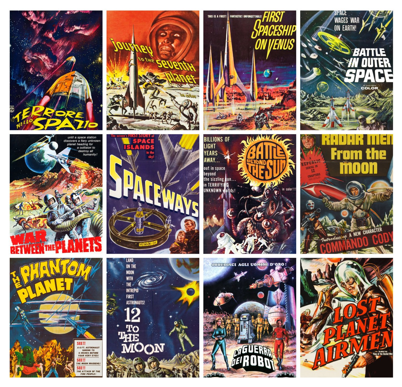 Sci Fi Poster