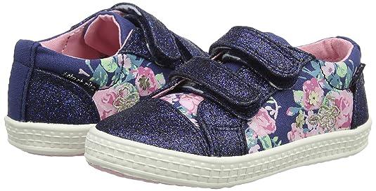 Start Rite Mädchen Edith Canvas Mary Jane, Blau (Navy Multi Floral), 27.5 EU
