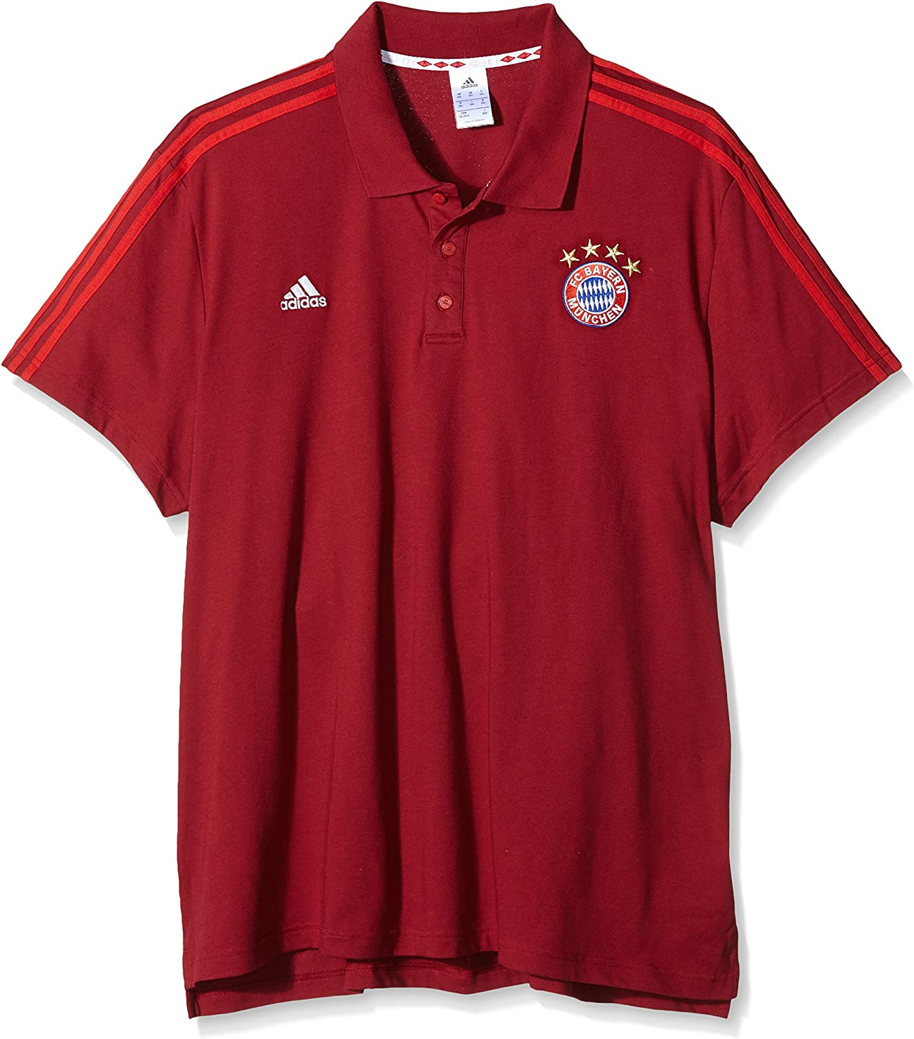 adidas 2015-2016 Bayern Munich 3S Polo Shirt (: Amazon.es: Ropa y ...
