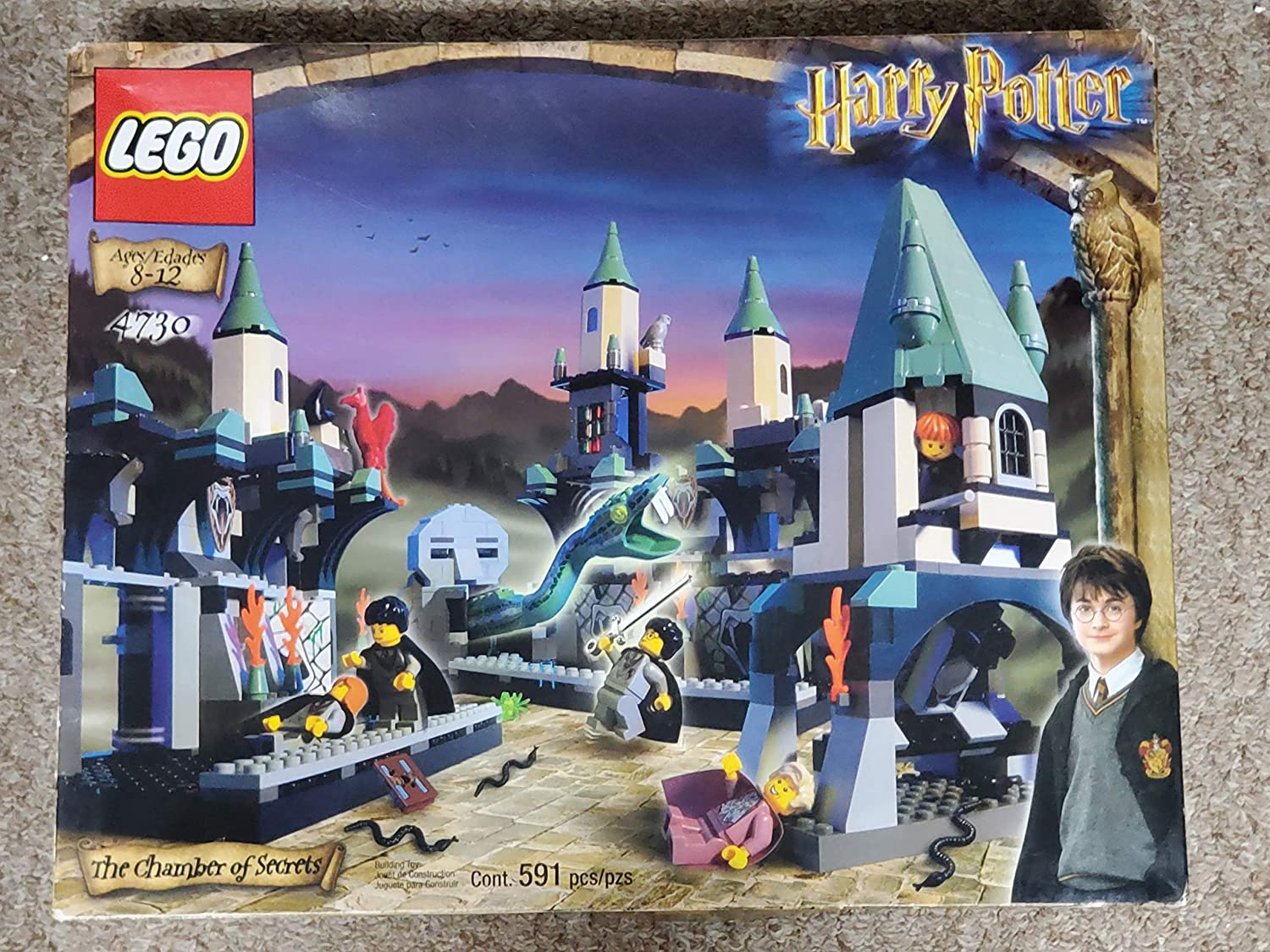 LEGO Harry Potter The Chamber of Secrets Set 4730