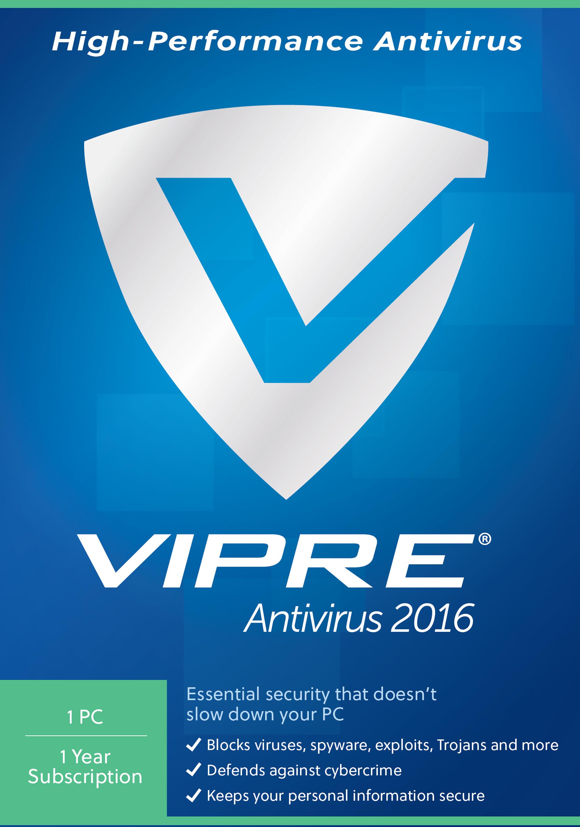 Vipre Antivirus 1Pc  Download