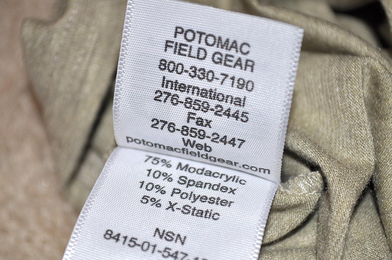 Potomac Field Gear FROG style Undershirt USMC Military Sz Large