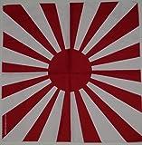 100% algodón Sol Naciente japonés Bandana