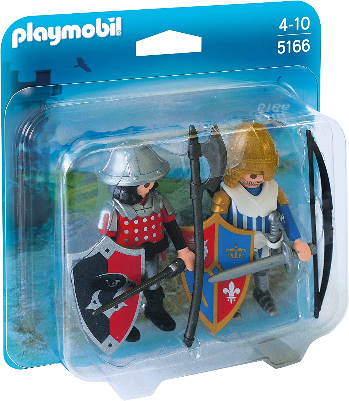 PLAYMOBIL - Duopack, Caballeros (51660): Amazon.es: Juguetes y juegos