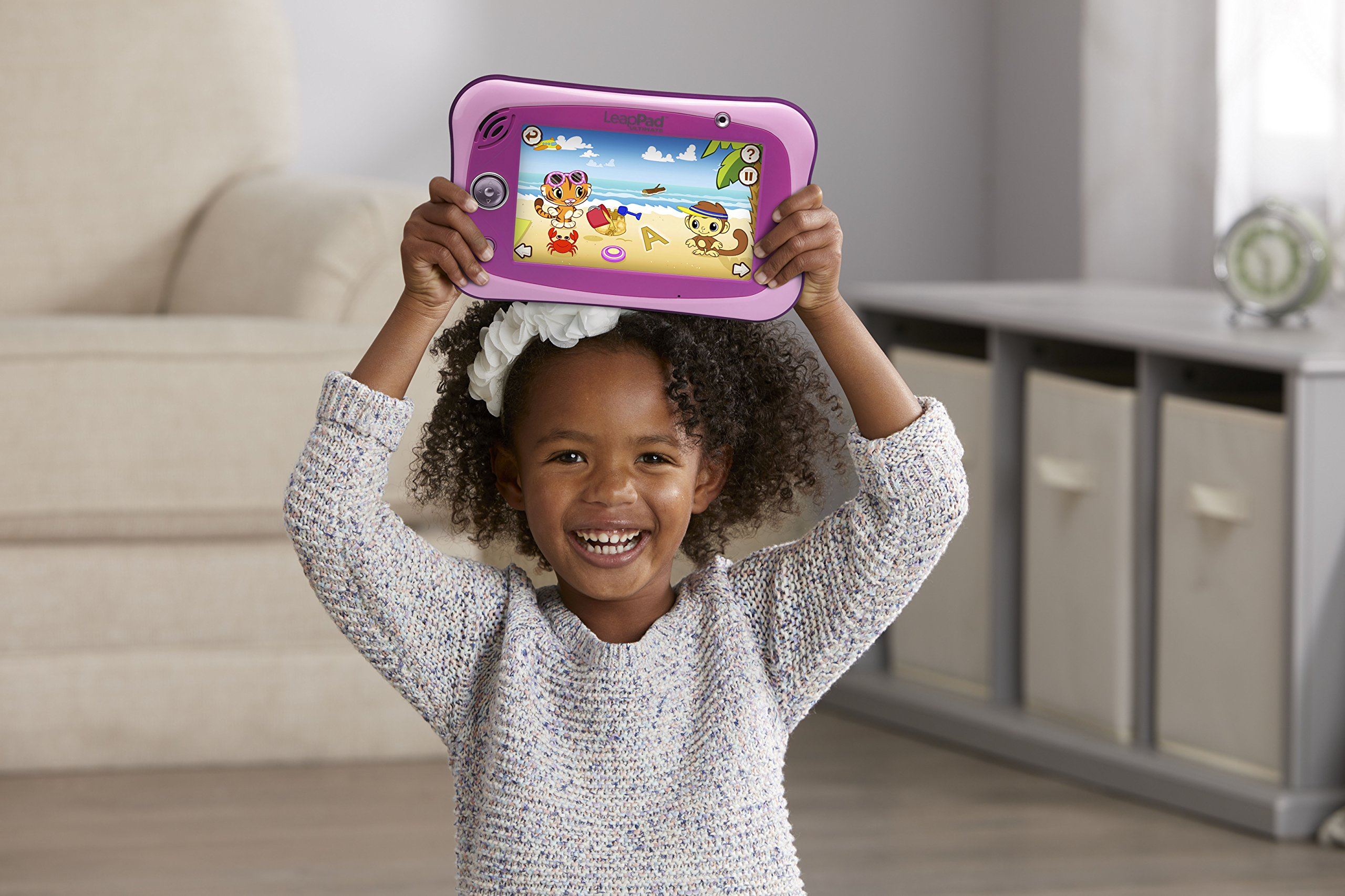 LeapFrog LeapPad Ultimate Ready for School Tablet, Pink by LeapFrog (Image #7)