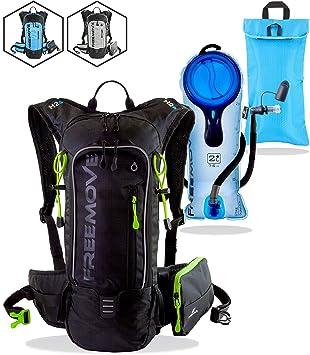 Amazon.com: Pack de hidratación FREEMOVE – mochila de ...