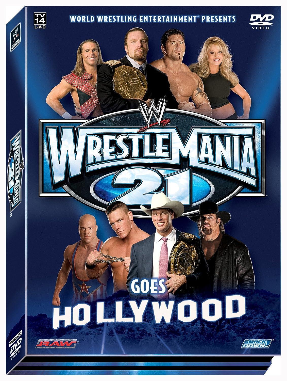 Wwe: Wrestlemania XXI [Reino Unido] [DVD]: Amazon.es: Cine y Series TV