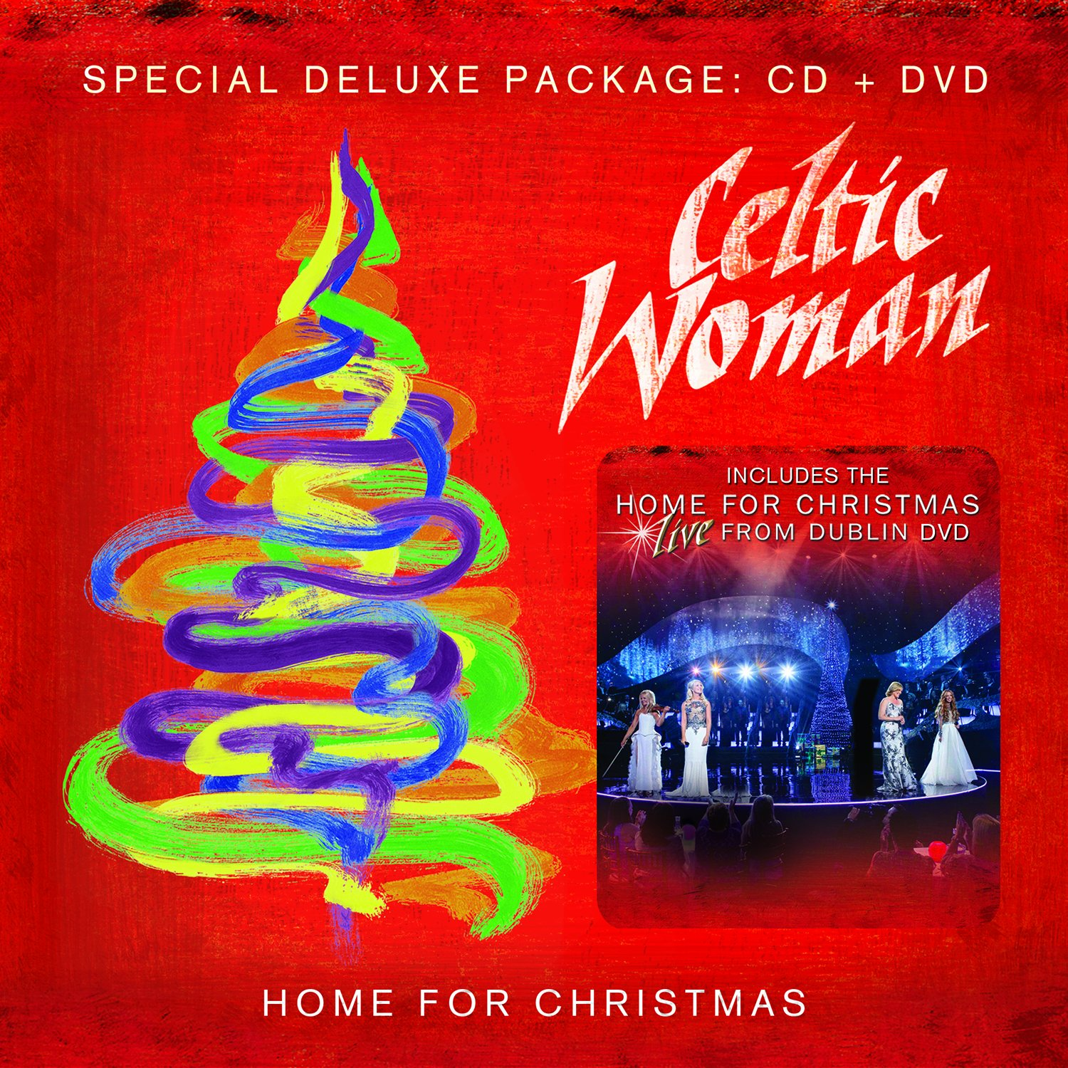 Home for Christmas: Live From Dublin [CD/DVD Combo] by Manhattan Records