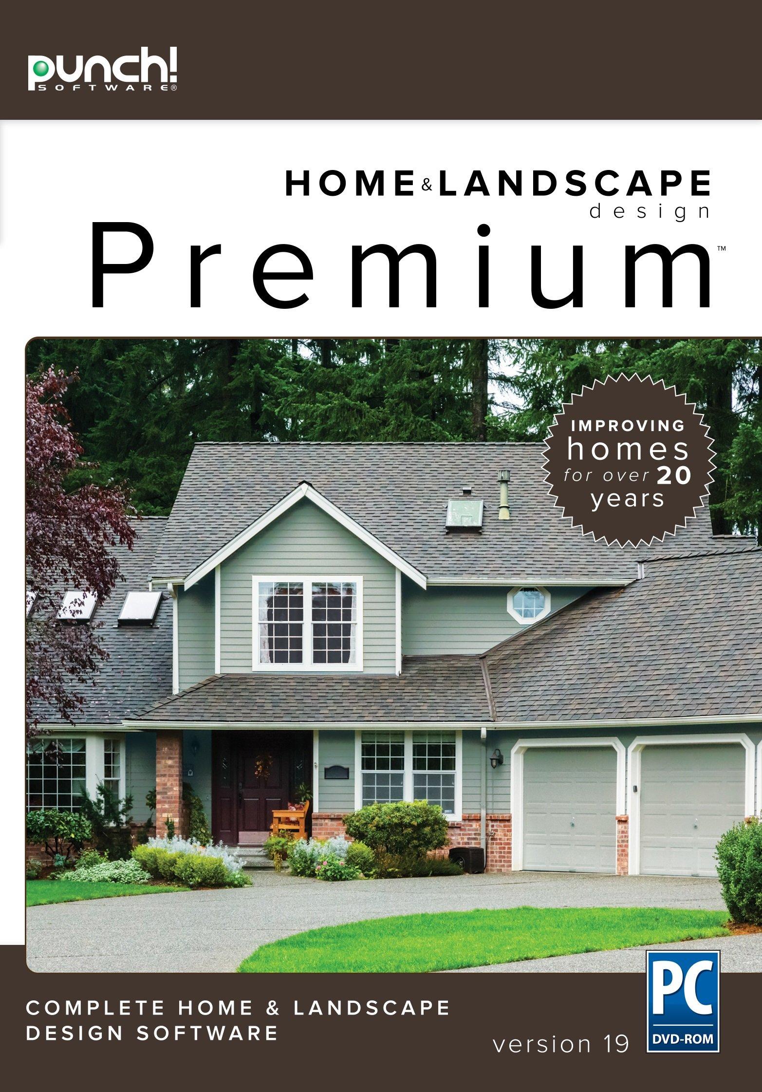 Punch! Home & Landscape Design Premium v19 by Encore