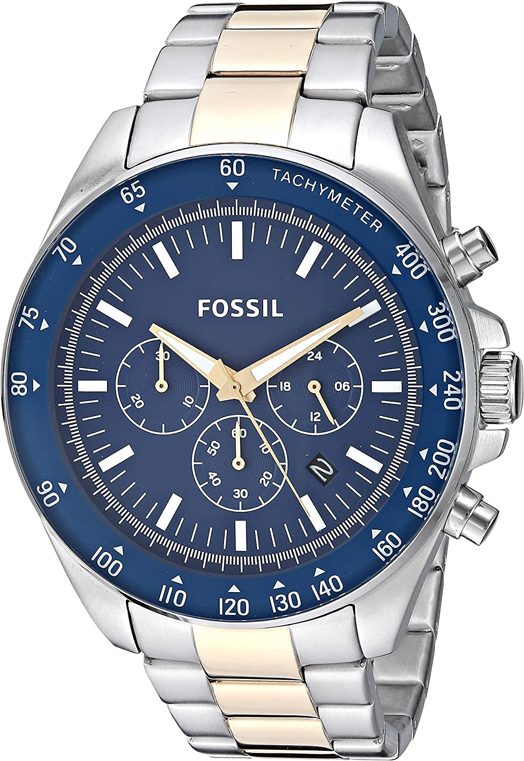 Fossil Men s Neale Quartz Stainless Steel Chronograph Watch