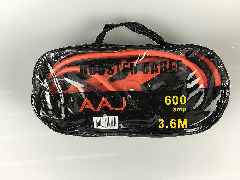 AAJ max-Cavo di avviamento, 600 a 3,6 m (fornito in borsa con cerniera con manico