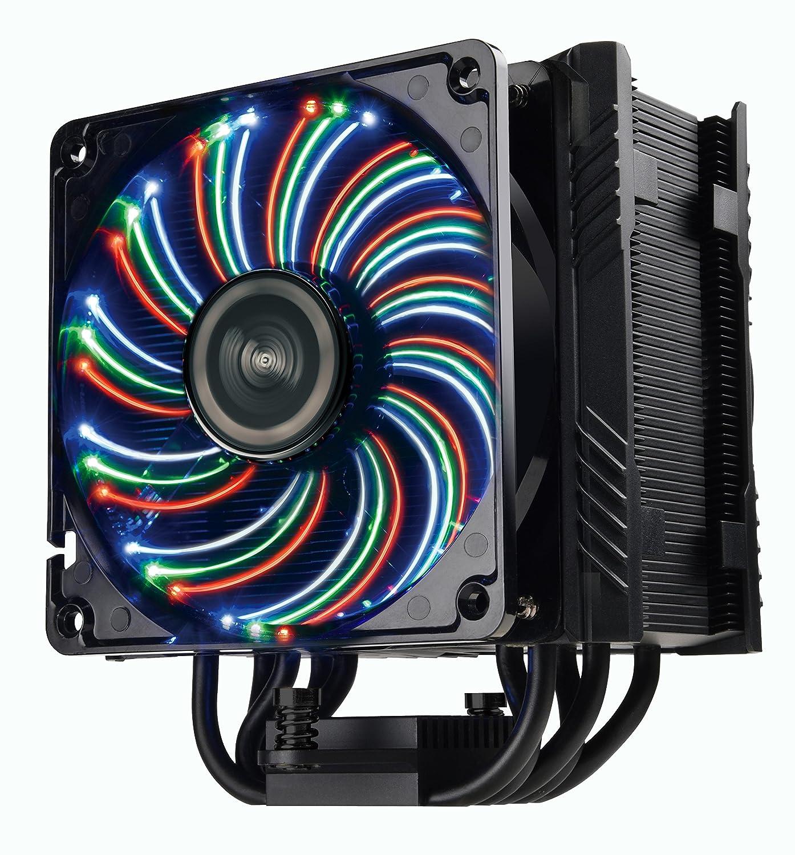 amazon com enermax ets t50 outstanding cooling performance cpuamazon com enermax ets t50 outstanding cooling performance cpu cooler 250w tdp intel amd pdf design, dfr technology, autoplay led, black, ets t50a bvt
