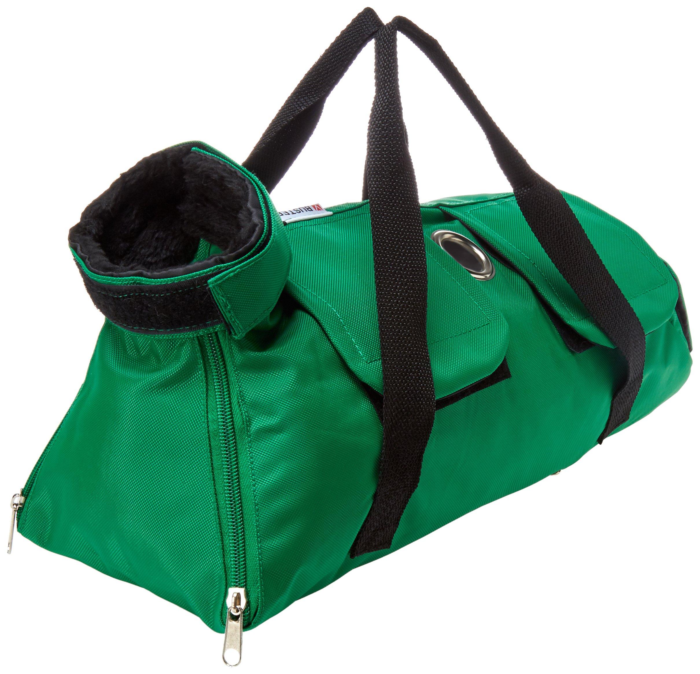 Kruuse Buster No Scratch Pet Examination Bag, 8-12 lb, Green