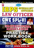 IBPS Specialist Officer SO Law Officer CWE SL - VI Online Exam (Professional Knowledge) Practice Work Book - 1806