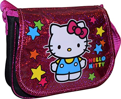 578263f42 Amazon.com: Hello Kitty By Sanrio Girl's Crossbody Shoulder Purse: L J  BACKPACK