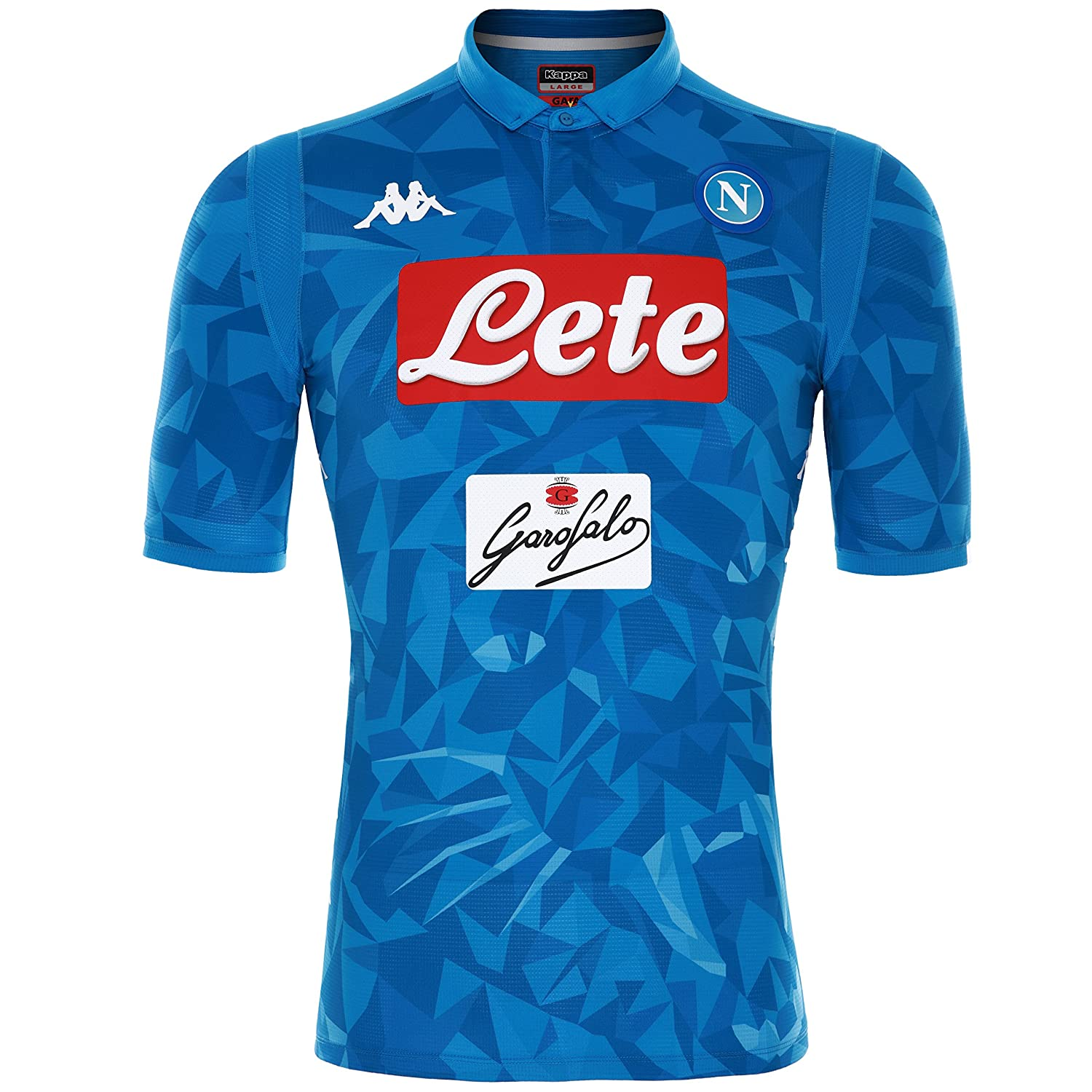 Amazon.com   Kappa Napoli SSC Authentic Match Home Shirt 2018-19 Original    Sports   Outdoors 2b7fe32244cf6