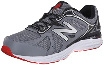 New Balance Men\u0027s M560V6 Running Shoe, Grey/Black/Red, ...