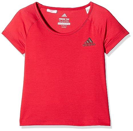 0d2e5d63678c28 adidas Mädchen Prime T-Shirt  Amazon.de  Sport   Freizeit