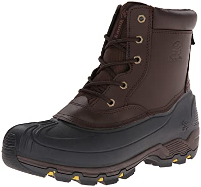 Kamik Men's Hawksbay Boot,Dark Brown,7 ...