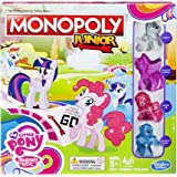Hasbro B8417 - Jeu de Plateau - Monopoly Junior - My Little Pony