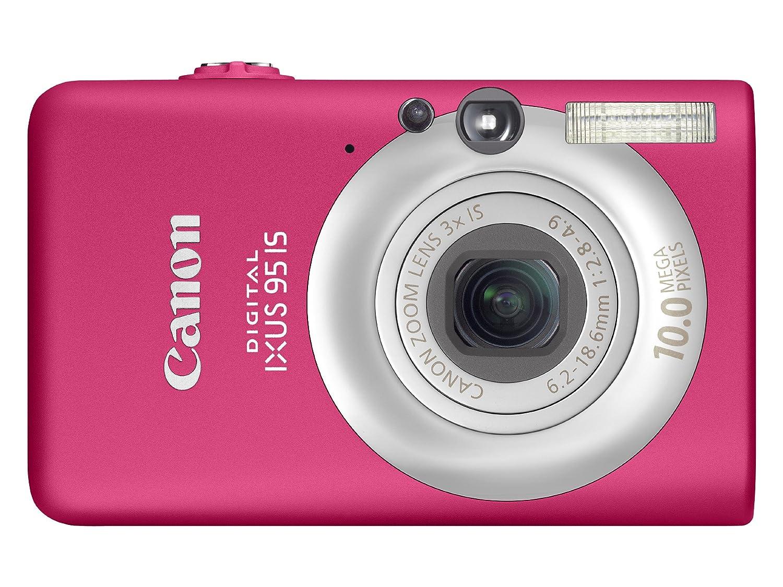 Canon Digital IXUS 95 IS Digital Camera - Pink 2.5: Amazon.co.uk: Camera &  Photo