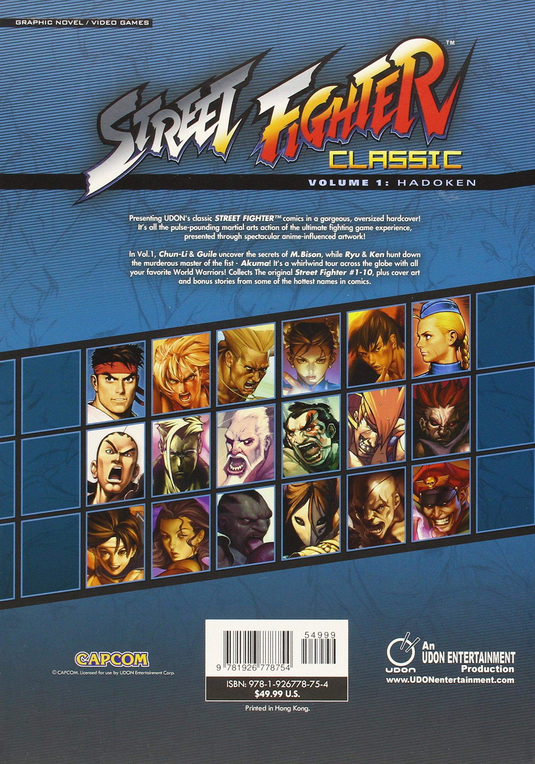 Street Fighter Classic Volume 1: Hadoken: Ken Siu-Chong
