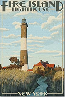 product image for Captree Island, New York, Fire Island Lighthouses 36727 (19x27 Premium 1000 Piece Jigsaw Puzzle for Adults, Made in USA!)