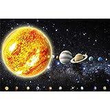 Poster sterne wandbild dekoration kinderzimmer weltraum for Dekoration universum